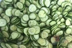 Příprava receptu Nejlepší okurkový salát na zimu bez žádných konzervantů, krok 3