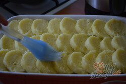 Příprava receptu Zapečené vepřo-knedlo-zelo, krok 4