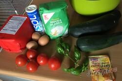 Příprava receptu Neodolatelná cuketová pizza, krok 1