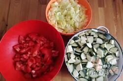 Příprava receptu Fantastická zeleninová směs s cuketou bez zavařování, krok 6