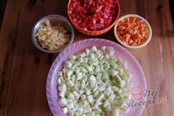 Příprava receptu Cuketovo rajčatová pomazánka do sklenic, krok 5