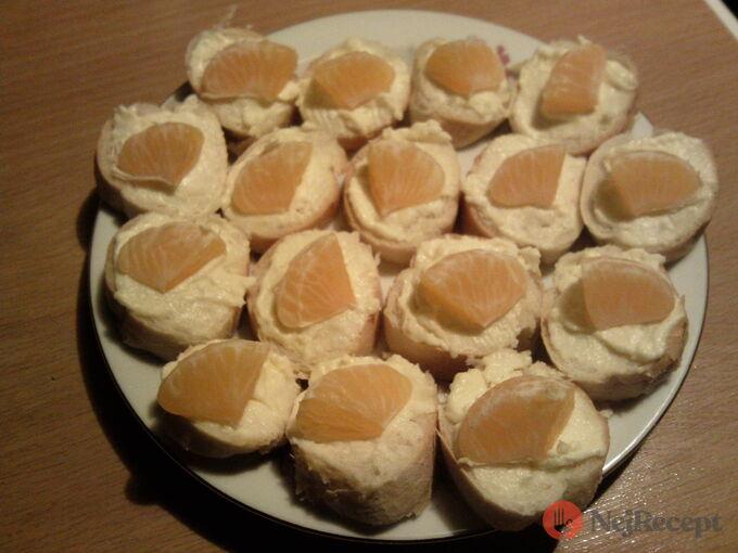 Recept Sýrovo česnekové jednohubky