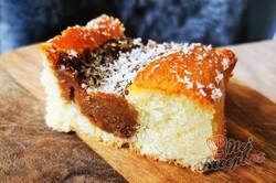 Příprava receptu Úžasná Lotusovo-kokosová buchta, krok 4