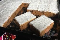 Příprava receptu Koláček ,,zdravé očko,, s polevou ze zakysané smetany a bílé čokolády, krok 19
