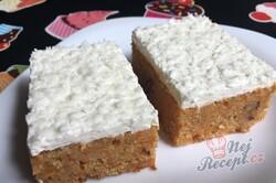 Příprava receptu Koláček ,,zdravé očko,, s polevou ze zakysané smetany a bílé čokolády, krok 18