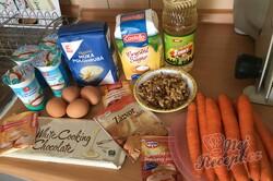 Příprava receptu Koláček ,,zdravé očko,, s polevou ze zakysané smetany a bílé čokolády, krok 1