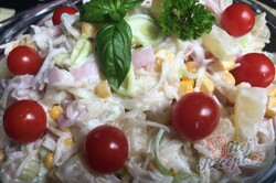 Příprava receptu Celerový salát s ananasem, krok 5