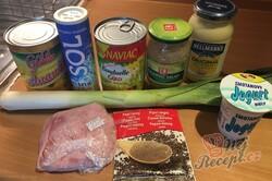 Příprava receptu Celerový salát s ananasem, krok 1