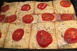 Příprava receptu Zapékané pizza tousty s jednoduchou a rychlou přípravou, krok 11
