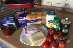 Příprava receptu Zapékané pizza tousty s jednoduchou a rychlou přípravou, krok 1