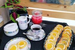 Příprava receptu Koláčky z taveného sýra plněné ricottou a mangovým pyré, krok 4