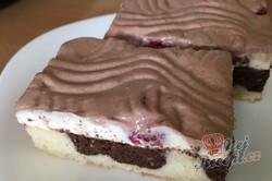 Příprava receptu Hrnkový tvarohový dort na plechu, krok 26
