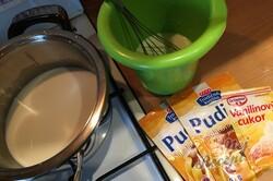 Příprava receptu Hrnkový tvarohový dort na plechu, krok 10