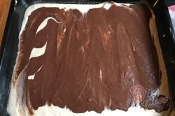 Příprava receptu Hrnkový tvarohový dort na plechu, krok 8