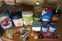 Příprava receptu Hrnkový tvarohový dort na plechu, krok 1