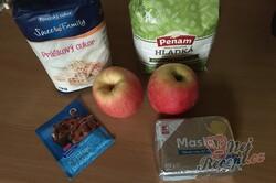 Příprava receptu Fantastické jablečné buchtičky, které zmizí z talíře za jednu minutu., krok 1