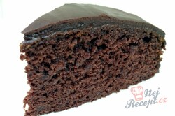 Recept Jablečný dort na způsob luxusního Sacher dortu