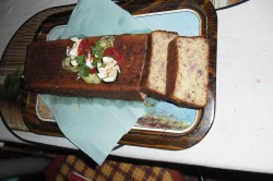 Příprava receptu Sekaná s kopřivami, pažitkou a petrželkou, krok 1