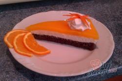 Příprava receptu Tvarohový koláč s pomerančovou želatinou, krok 19