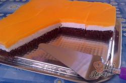 Příprava receptu Tvarohový koláč s pomerančovou želatinou, krok 20
