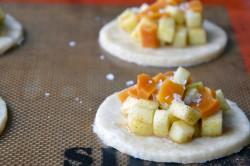 Příprava receptu Mini koláčky plněné jablky se skořicí, krok 4