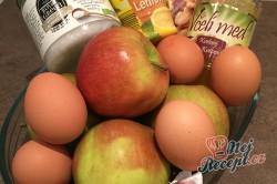 Příprava receptu Jablečný nákyp s ořechy BEZ MOUKY a CUKRU - FOTOPOSTUP, krok 1