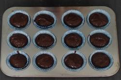 Príprava receptu Nutellové muffiny pripravené za 5 minút, krok 4