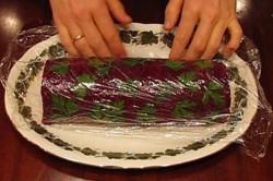 Příprava receptu Roláda z červené řepy, krok 4