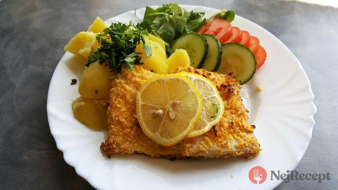 Recept Řízky z rybího filé pečené v troubě bez smažení