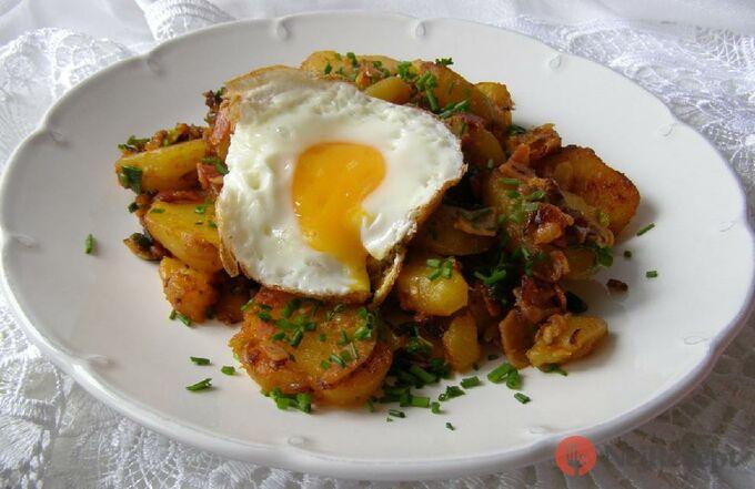 Recept Tyrolské brambory