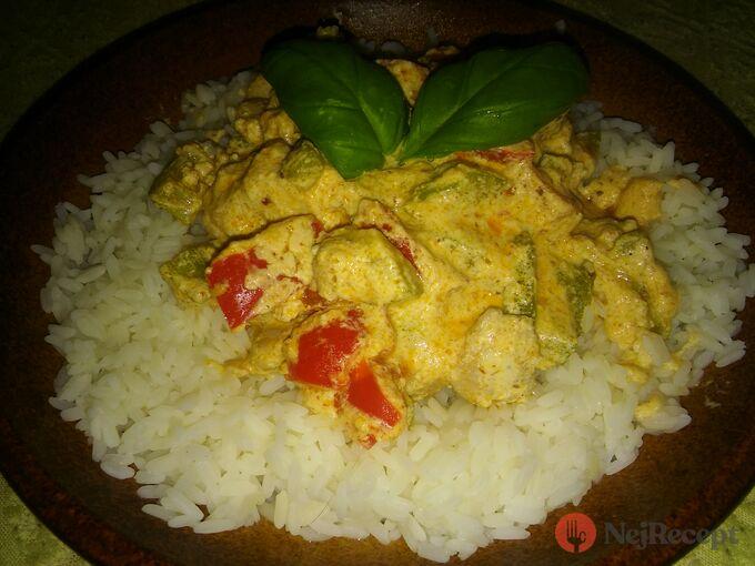 Recept Thajské kari po česku