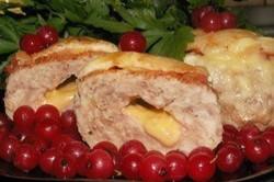 Příprava receptu Plněné karbanátky se sýrem a rajčetem, krok 4