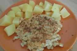 Příprava receptu Sýrové placičky, krok 1