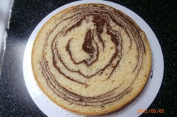 Příprava receptu Vynikající mramorový korpus na dorty, krok 16