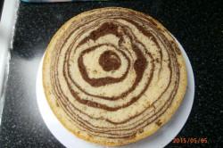 Příprava receptu Vynikající mramorový korpus na dorty, krok 17