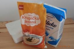 Příprava receptu Krupičná kaše, krok 1