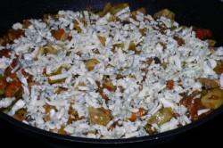 Příprava receptu Krkovička pod zeleninovou peřinkou, krok 3