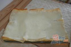 Příprava receptu Lasagne s lososem a špenátem, krok 3