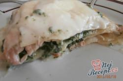 Příprava receptu Lasagne s lososem a špenátem, krok 4