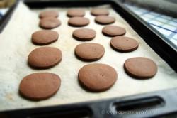 Příprava receptu Čoko sušenky s kokosovým krémem - FOTOPOSTUP, krok 21