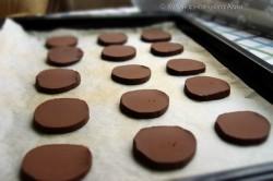 Příprava receptu Čoko sušenky s kokosovým krémem - FOTOPOSTUP, krok 20