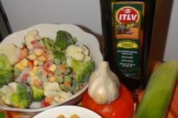 Příprava receptu Minestrone - italská zeleninová polévka, krok 1