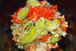 Příprava receptu Minestrone - italská zeleninová polévka, krok 2