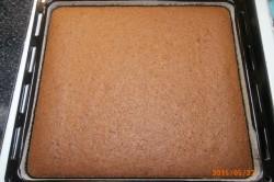 Příprava receptu Tvarohové řezy s džusovou polevou, krok 1