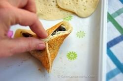 Příprava receptu Plněné slané palačinkové mini taštičky, krok 3