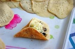 Příprava receptu Plněné slané palačinkové mini taštičky, krok 2