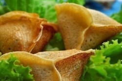 Příprava receptu Plněné slané palačinkové mini taštičky, krok 5