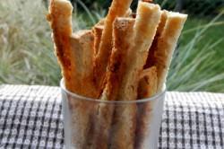 Příprava receptu Křupavé chlebové tyčky, krok 1