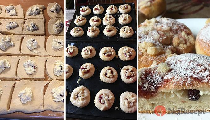 Recept Měkkoučké moravské koláče jako od babičky (těsto ze šlehačkové smetany)