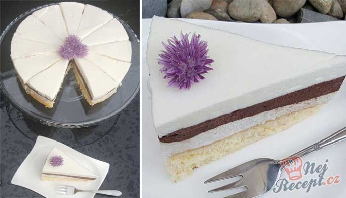 Recept Šlehačkový dort Viola
